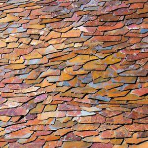 Piedras Segovia - Cubiertas - Pizarra: Filita roja granel