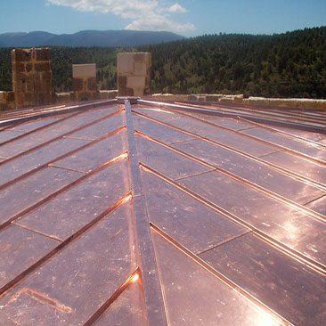 Piedras Segovia - Cubiertas - Cobre - Modelo cobre