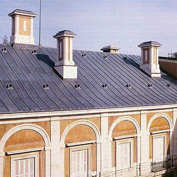 Piedras Segovia - Cubiertas - Plomo - Modelo plomo