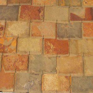 Piedras Segovia - Cubiertas - Pizarra: Multi color