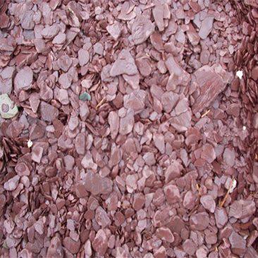Piedras Segovia - Jardinería - Escarcha pizarra: Rojo