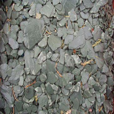 Piedras Segovia - Jardinería - Escarcha pizarra: Verde