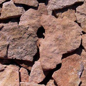 Piedras Segovia - Piedras irregulares: Caliza amarilla