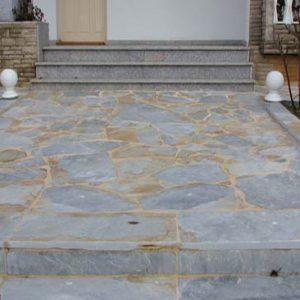 Piedras Segovia - Piedras irregulares: Cuarcita blanca
