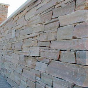 Piedras Segovia - Manpostería - Encementado: Blanco