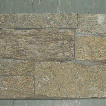 Piedras Segovia - Manpostería - Encementado: Granito rubio