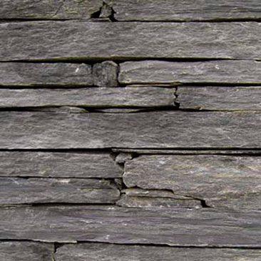 Piedras Segovia - Manpostería - Varios modelos: Gris negro