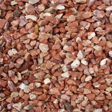 Piedras Segovia - Jardinería - Triturados: Rojo