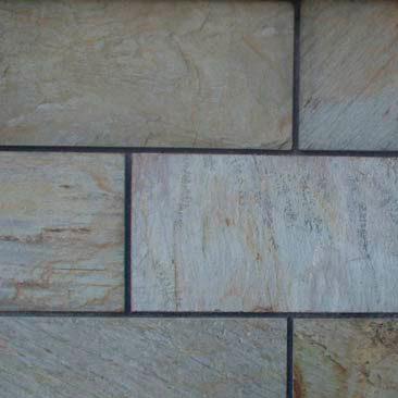 Piedras Segovia - Piedras regulares - Varios: Cuarcita blanca manchada