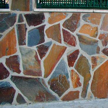 Piedras Segovia - Piedras irregulares: Filita roja