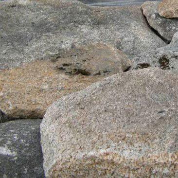 Piedras Segovia - Piedras irregulares: Piedra musgo
