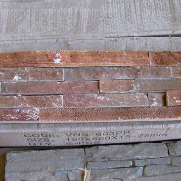 Piedras Segovia - Manpostería - Premontado - Panel:Enresinado dorado