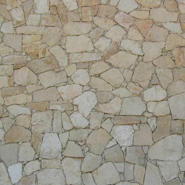 Piedras Segovia - Manpostería - Varios modelos: Caliza
