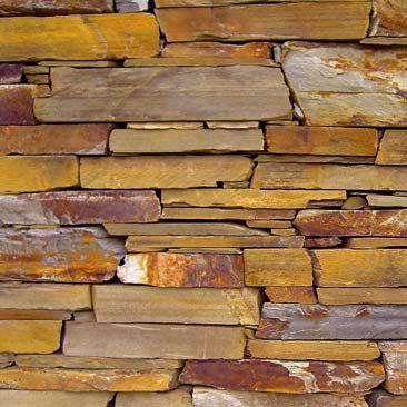 Piedras Segovia - Manpostería - Varios modelos: Rojo ó multicolor